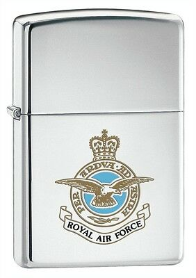Personalised Royal Air Force Zippo Cigarette Lighter Engraved Gift