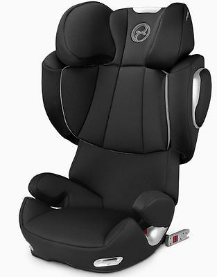 Cybex Solution Q2-Fix High Back Booster Child Safety Car Seat Black Beauty NEW