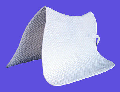 New Saddle Pad Cloth Blanket White Color Spw5