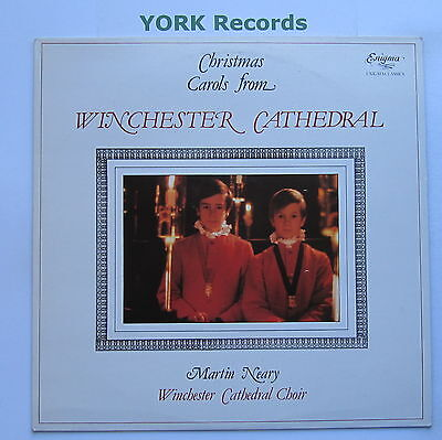 CHRISTMAS CAROLS FROM WINCHESTER CATHEDRAL - Ex Con LP Record Enigma K 53607
