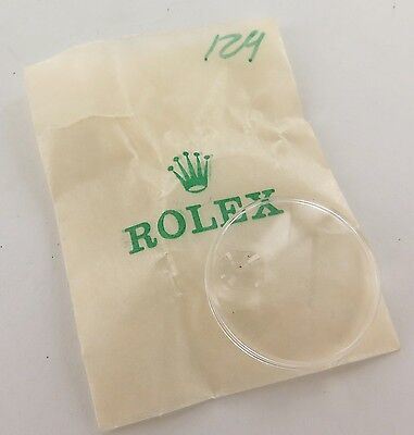 .rolex Ladies 129 21Mm Crystal Cyclops Plexi Glass New Old Stock In Original Pkt