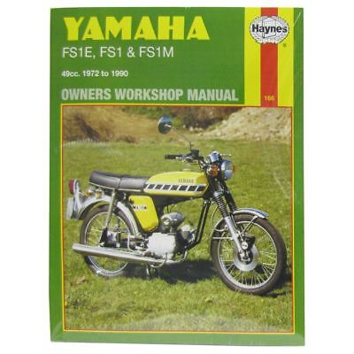 Manual Haynes for 1980 Yamaha FS1 DX (Disc)