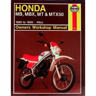 Manual Haynes for 1985 Honda MT 50 SF