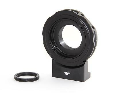 """Adapter for Canon EOS Lenses to T2 for CCD cameras - with 1/4"""" thread, TS10838"""