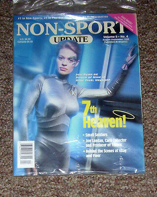 NON-SPORT UPDATE VOL 09 NO 4 AUG - SEPT 1998 Seven of Nine/Star Trek Voyager