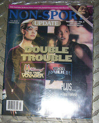 NON-SPORT UPDATE VOL 12 NO 3 JUN 2001 - JULY 2001 Seven of Nine / Tomb Raider