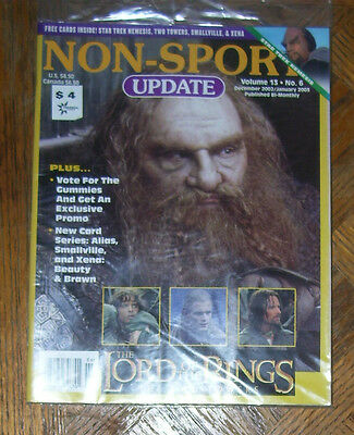 NON-SPORT UPDATE VOL 13 NO 6 DEC 2002 - JAN 2003 Lord of the Rings, The Two Towe