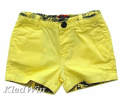 PAUL SMITH JUNIOR short geel, mt.12 M, NIEUW!!!