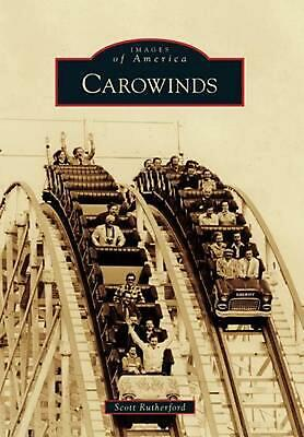 Carowinds by Scott Rutherford (English) Paperback Book Free Shipping!