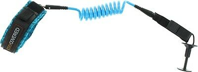 Stay Covered Bicep Coiled Body Board Leash Blue