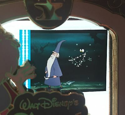 Piece Of Disney Movies Movie History Cel Sword And The Stone Merlin Le PODM