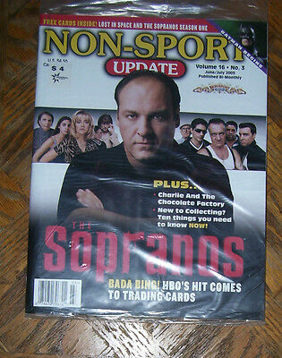 NON-SPORT UPDATE VOL 16 NO 3 JUN 2005 - JULY 2005 The Sopranos