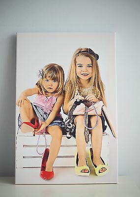 "CANVAS BOX, YOUR PERSONALISED PHOTO PICTURE PRINT, SIZE LARGE 20"" x 16"""