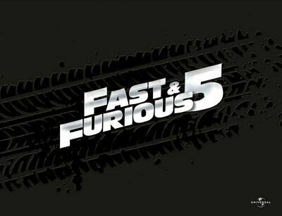 Fast & Furious 5 - Limited Collector's Box # BLU-RAY+DVD-NEU