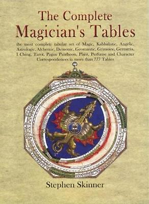 The Complete Magician's Tables by Stephen Skinner (English) Hardcover Book