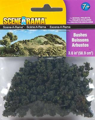 Woodland Scenics SP4184 N/HO Bushes Train Scenery