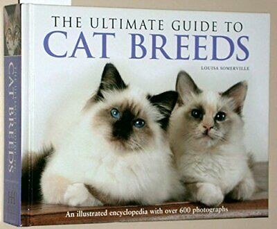The Ultimate Guide to Cat Breeds Book The Cheap Fast Free Post