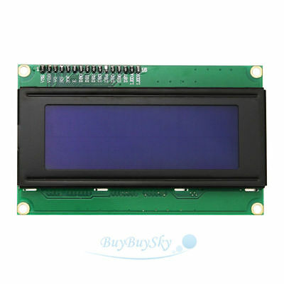 2004 20x4 2004A Blue Character LCD /w IIC/I2C Serial Interface Adapter Module