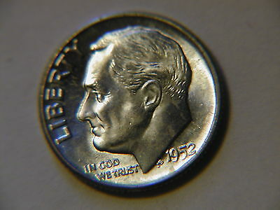 1952  Roosevelt Dime BU uncirculated gem!