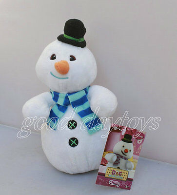 "NEW ARRIVAL Doc McStuffins & Friends Chilly the Snowman 6"" PLUSH STUFFED"