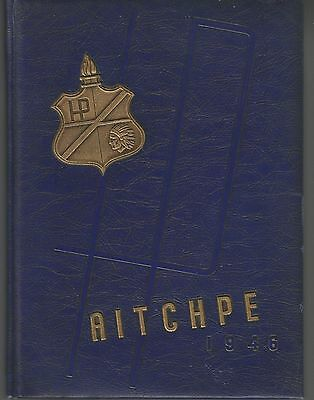 1946 Hyde Park High School Chicago Yearbook