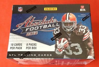 2012 Panini Absolute Blaster Box 8Pack Andrew Luck Nick Foles Jersey/Patch/Auto?