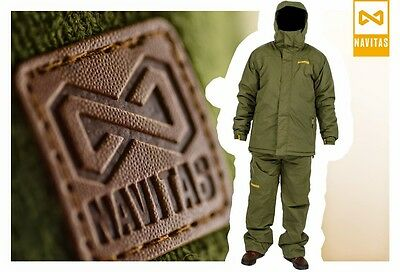 Navitas NEW NVTS All Weather Green Waterproof Carp Fishing Clothing Combo Suit