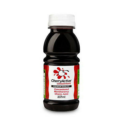 Cherry Active 100% Concentrated Montmorency Cherry Juice 237ml No Preservatives