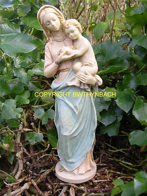 New Rubber Latex Mould Mold Moulds Small Religious Mary Madonna And Jesus