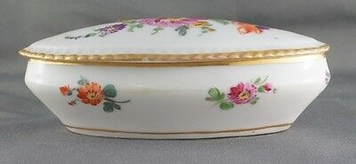 Dresden Floral Small Dresser Box Lidded