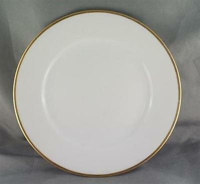 Limoges Made for Hudsons Bay White With Gold Trim Salad Plate