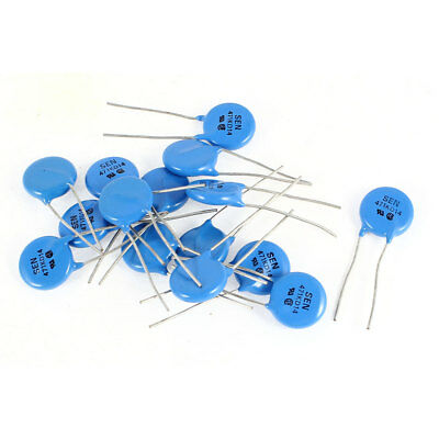 15pcs Radial Lead Disc Voltage Dependent Resistors 471KD14 AC 470V