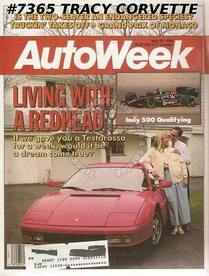 May 23, 1988 Autoweek Arnolt-Bristol Indy 500 Qualifying Penske Mears Andretti