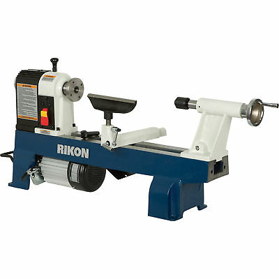 Rikon 12in x 16in Woodworking Mini Lathe - 1/2 HP, 3450 RPM, #70-100