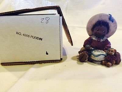 New in Box - Martha Holcombe All God's Children Figurine Puddin