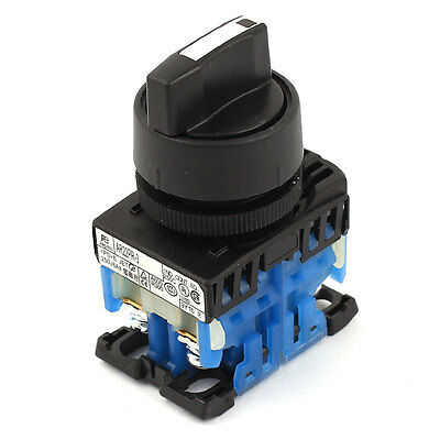 AR22PR-3 30mm Dia NC+NC DPST 3 Position Rotary Selector Switch
