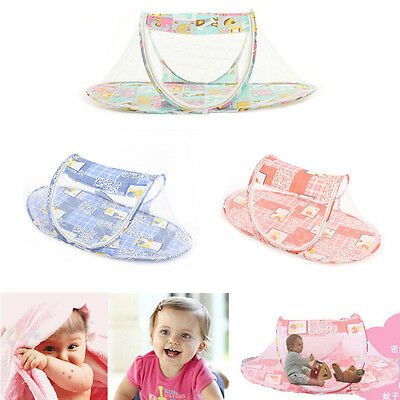 1 X Baby Kid Mosquito Net Infant Travel Bed Crib Canopy Net Tent JGUS