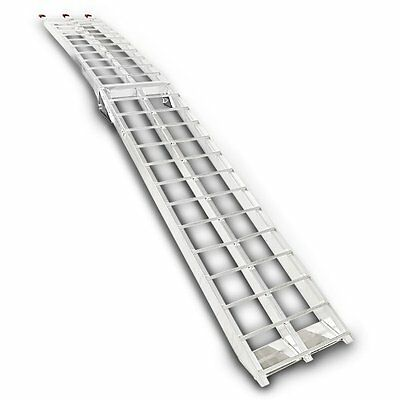 Aluminium loading ramp, max. 340 kg, folding, for Quad/ATV/Scooter/Dirt bike