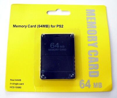 Carte memoire 64 Mo pour Sony Playstation 2 PS2 64 Mb memory card