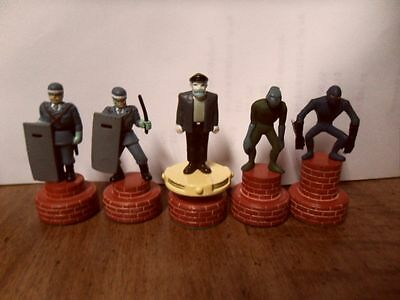 Lupin III Rare Chess Figure Lot Official Japan Anime The Third 3rd