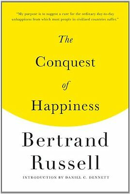 The Conquest of Happiness - Bertrand Russel NEW Paperback August 2013