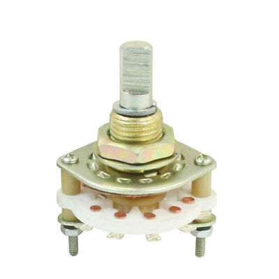 KCX1*10 1P10T 1 Deck 11Pins Band Channel Rotary Switch Selector