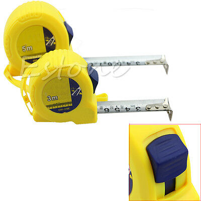 Retractable Steel Ruler Tape Measure Sewing Cloth Metric Tailor Tools