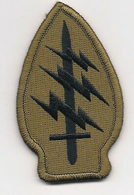 Brown Green Black US Army Special Forces Command SSI Patch VELCRO® BRAND Hook