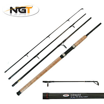 NGT Intrepid 9ft 4 Piece Travel Fishing Rod Coarse General Spinning Tackle