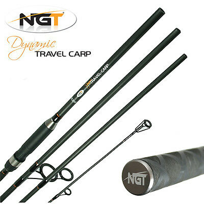 NGT Dynamic Carp 11ft 4 Piece Travel Fishing Rod Coarse General Tackle