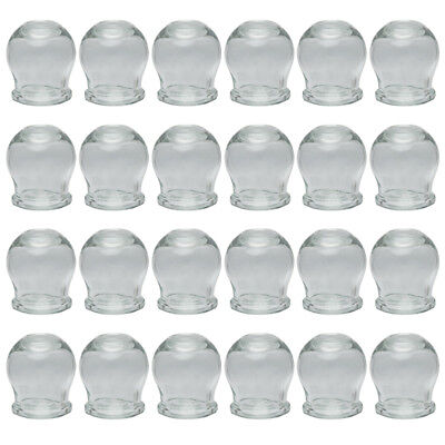 Cupping Set Glass - (fire cupping) - 24 pieces