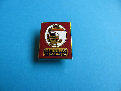 Guinness is Good For You Toucan badge. VGC. Unused. Hard Enamel.