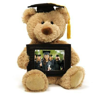 Graduation Gift Plush Bear With Photo Memory Keepsake