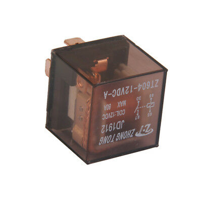 Car Truck Auto Automotive DC 12V 80A 80 AMP SPST Relay Relays 4 Pin 4P